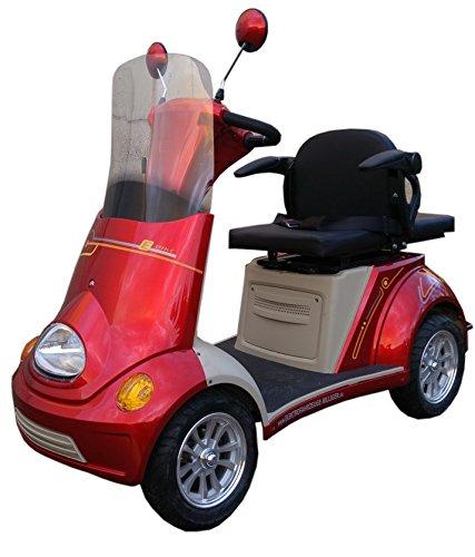 ElektroMobil 800W 60V Modell Neu Boco ZWEISITZER bis 10 15 25km h ElektroScooter Senioren Mobility Vehicle Vierr drig ElektroRoller Sonder Modell 2018*