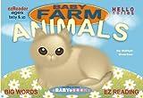 Baby Farm Animals: Moo! Baa! Woof! (EZ READER Book 1) (English Edition)