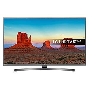"43UK6750P 43"" Ultra HD 4K Smart LED TV With Freeview Play in Black"