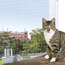 Trixie Protective Net, 8 x 3 m, Transparent