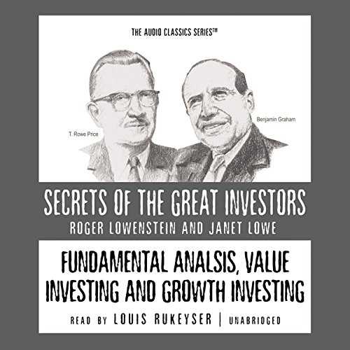 Fundamental Analysis, Value Investing, and Growth Investing  Audiolibri