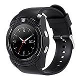 Yeshi Reloj de pulsera inteligente con Bluetooth para llamadas de sueño, antipérdida para iOS y Android