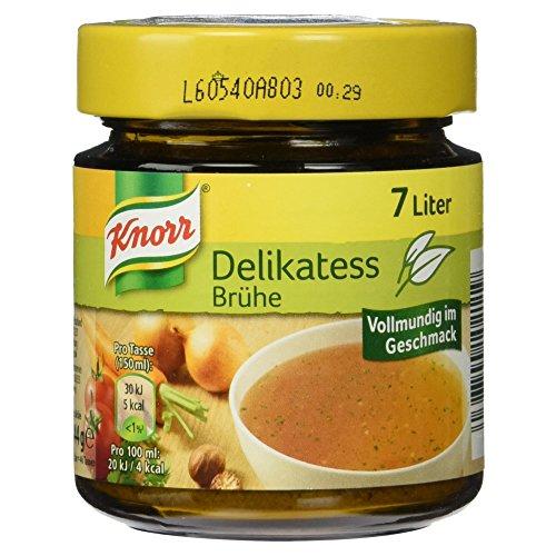 Knorr Delikatess Brühe Glas 7 Liter
