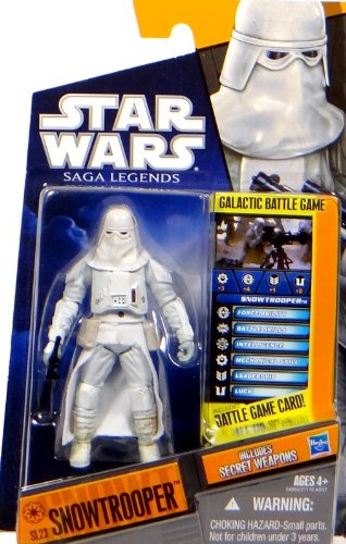 "Preisvergleich Produktbild Imperial Snowtrooper ""The Empire Strikes Back"" SL23 Star Wars Saga Legends 2011 von Hasbro"