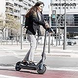 "InnovaGoods Patinete Eléctrico Plegable Pro 8,5'' 7800 mAh 350W Negro, Adultos Unisex, Gris, 8,5"""