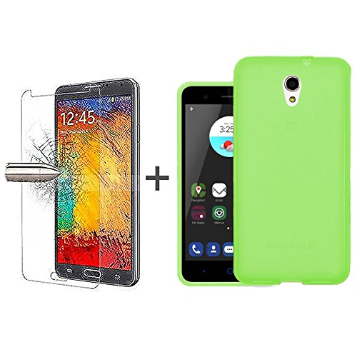 tbocr-pack-green-tpu-silicone-gel-case-tempered-glass-screen-protector-for-zte-blade-v7-52-inches-so