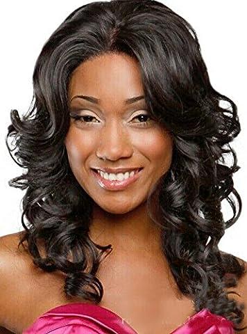 Meylee Perruques Fashion longue perruque cheveux bouclés pour femmes