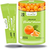 Zindagi Orange Herbal Infusion - Natural Sugar-Free Infusion Tea Bags Or Drink Sweeten With Stevia (Pack Of 1...