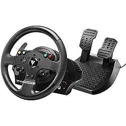 Thrustmaster TMX Force Feedback - Volante de Carreras con pedales grandes para XboxOne/PC con Licencia Oficial Xbox