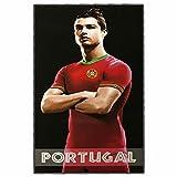 Cristiano Ronaldo Grande Serviette de Plage Portugal (180x100cm)