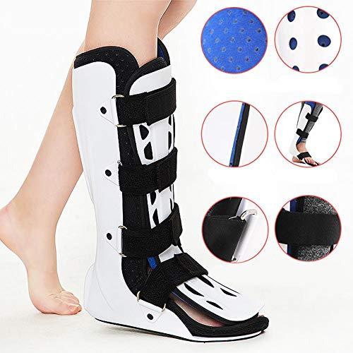 ningxiao586 Kurzer Fracture Walker Boot, Fuß-Knöchel-Fracture-Boot-Brace, ideal für Frakturen, Operationen nach Bändern und Sehnen, Verstauchungen am Knöchel, atmungsaktive und hygienische Brace
