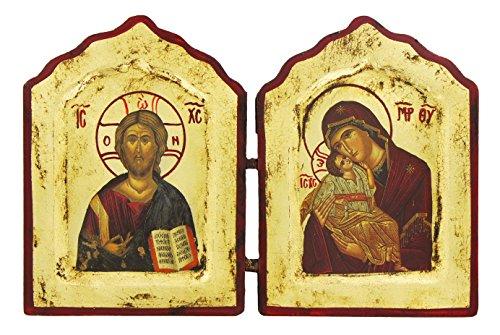 diptyque-avec-impression-or-jesus-et-madonna-avec-le-enfant