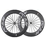 ICAN 700c Carbon Laufrad 86mm Drahtreifen für Triathlon Rennrad Felgebreite