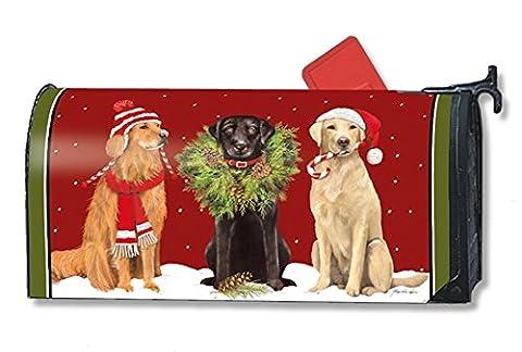 MailWraps Santa's Helper Mailbox Cover #01246