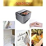 Gold foil transfert; plastifiées sur impression Laser, Color or, 10feuilles A4