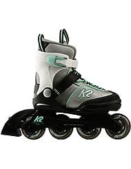 K2 Inline-Skates VELOCITY JR GIRLS 1 Silver-Green