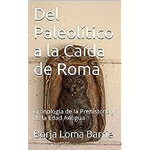 Del Paleolítico a la Caída de Roma: Cronología de la Prehistoria y de la Edad Antigua (El Curso de la Historia nº 1)