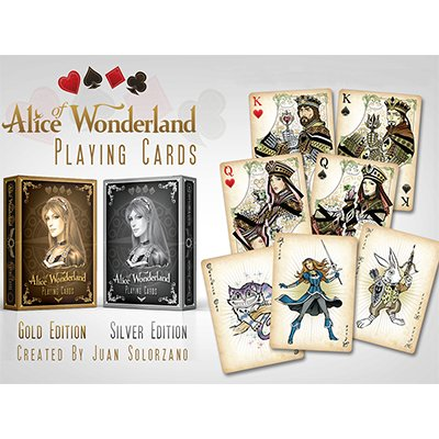 Preisvergleich Produktbild Alice of Wonderland Gold by Gamblers Warehouse - Trick
