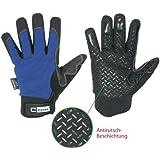 mechanicals Freezer Guantes de piel sintética con Thinsulate capa aislante en 388, EN 511
