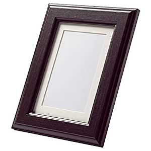 Ikea Virserum marron foncé 8 X 10 pour cadre photo Noir