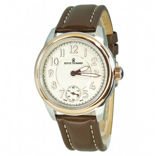 Revue Thommen Men's Automatic Watch 16064.3552 with Leather Strap