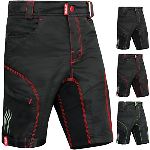 Brisk Bike Model7 Altura Padded MTB Shorts -