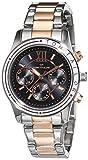 TOM TAILOR Watches Damen-Armbanduhr Analog Quarz Edelstahl beschichtet 5414601