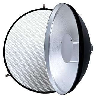 Godox AD360 Witstro AD-S3 Beauty Dish Reflector with HoneycoMB for AD180 / 360 Black (B00DMS96QQ)   Amazon Products