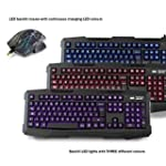 Sumvision LED Gaming Keyboard and Mou...