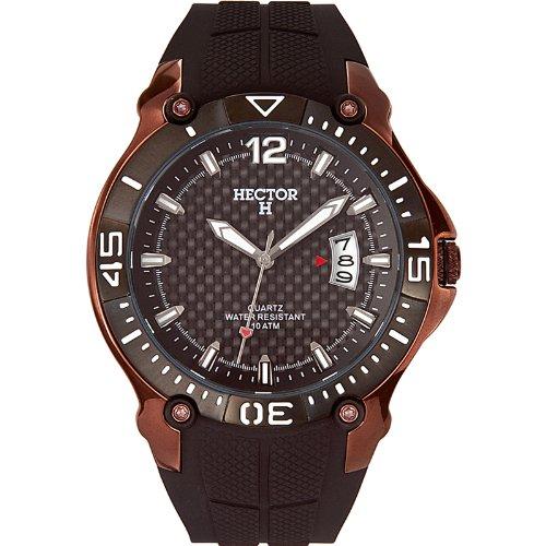 3c71329ee047 Hector H 665053 - Reloj analógico de Cuarzo para Hombre con Correa de  plástico