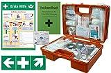 """Erste-Hilfe-Koffer Quick -Komplettpaket- mit """"Notfallbeatmungshilfe"""" für Betriebe DIN"""