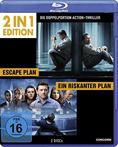 Ein riskanter Plan/Escape Plan - 2 in 1 Edition [Blu-ray]