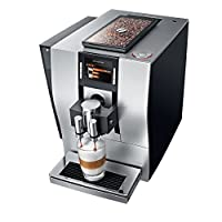 JURA 15074 Z6 Fully Automatic Bean-to-Cup Coffee Machine, 2.4 Litre, 1450 W - Satin Silver [Energy Class A]