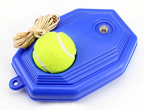 SaySure - Tennis Ball Trainer Practice Single Train Training Tool Base Partner Kit - UK-BG-000575