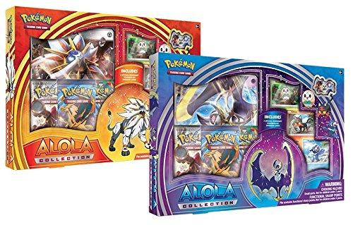 Pokemon TCG Coffret Alola Collection (Solgaleo ou Lunala) - En ANGLAIS