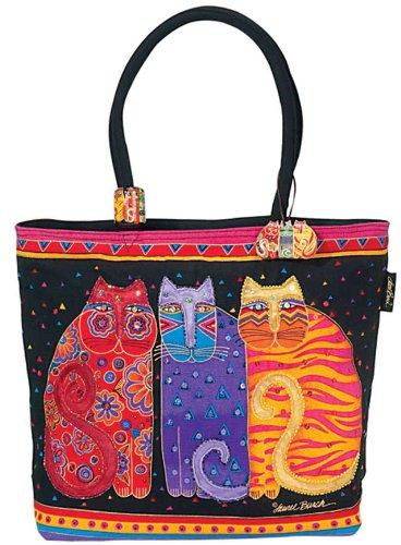 laurel-burch-laurel-burch-shoulder-zipper-top-19-by-5-by-15-inch-feline-friends