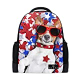 Best Zaini Dog - My Daily jack Russell Dog indipendenza giorno zaino Review