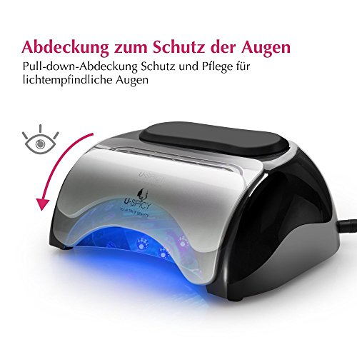 LED Gel Lampe mit Sensor - 5