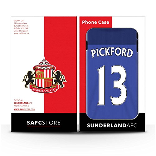 Offiziell Sunderland AFC Hülle / Glanz Snap-On Case für Apple iPhone 5C / Pack 24pcs Muster / SAFC Trikot Home 15/16 Kollektion Pickford