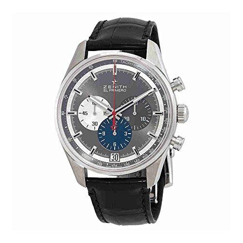Zenith Chronomaster El Primero Cronógrafo Automático Gris Dial Reloj para Hombre 03.2040.400/26.C496