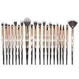 Chytaii. Pinceau de Maquillage Kit de Pinceaux Maquillage Maquillage Brosses Ensemble Brosse à Maquillage 20pcs