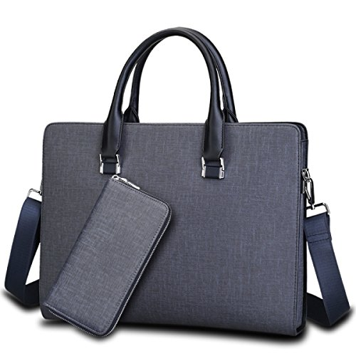 Business Bag Boutique Herren Tasche Reise Herren Handtasche Bunny Aktenkoffer Herren Leder Tasche Computer Tasche Horizontale Pack Blueash