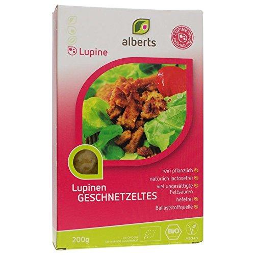 Alberts Bio Lupinen Geschnetzeltes (1 x 200 gr)