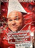 Heinz Gröning - Witten 2012 - Veranstaltungs-Poster A1
