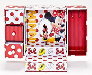 Joy Toy 91018 15 x 12 x 21 cm Minnie Jewellery Box with Lots of Music in Gift Wrap (Large)