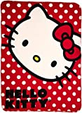 Best Sanrio Kitties - Sanrio Hello Kitty, Polka Dot Kitty Printed Fleece Review