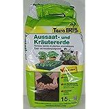 Terreau extra-fin pour le semis et la culture des légumes et des plantes aromatiques Emballage de 20litres