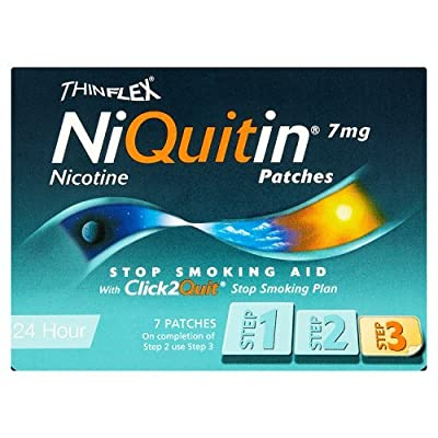 Niquitin CQ Patches 7mg Original - Step 3 - 7 Patches by Niquitin