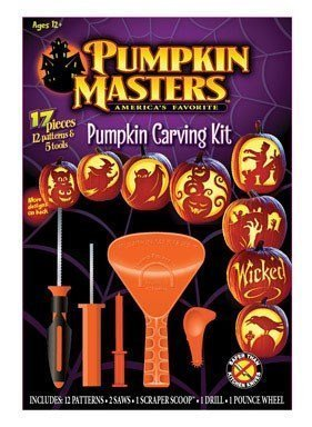 Pumpkin Masters Pumpkin Carving Kit Pumpkin by Signature Brands Llc (Pumpkin Masters)