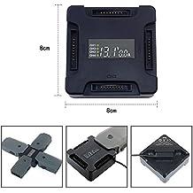 iMusk DJI Mavic pro/Platinum 4 in 1 Rapid Akku-Ladegerät Smart Multi Battery Intelligent Ladestation LCD Display